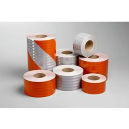 Picture of 3M™  Flexible Prismatic Reflective Sheeting Series 3314 Orange, 6 in x 50 yd