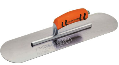 "Picture of Kraft Tool Co.®  - 16""  Steel Pool Trowel with a ProForm® Handle"