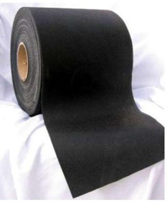 Picture of Removable Brite-Line® 100  Tape, Blackout, 6 in x 360 ft,  Non-Reflective