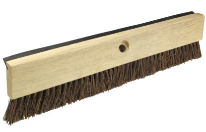 "Picture of Kraft Tool Co.® - 18"" Palmyra Coater Brush/Squeegee with Handle"
