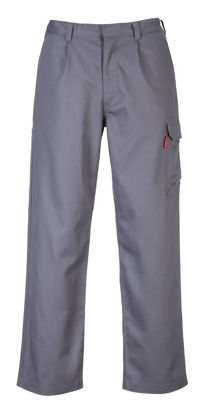 Picture of Portwest BizFlame  FR Cargo Pants Grey Tall