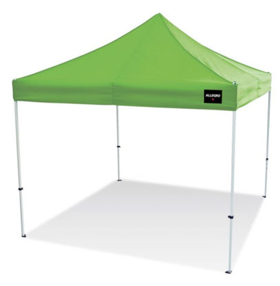 Picture of Allegro® Utility Canopy Shelter, Hi-Viz Green