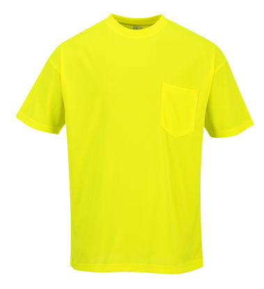 Picture of Portwest  Non ANSI Pocket Short Sleeve T-Shirt