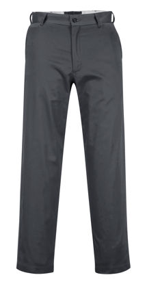 Picture of Portwest  Industrial Work Pants Grey Regular
