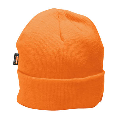 Picture of Portwest Insulated Knit Hat Insulatex Lined, Orange