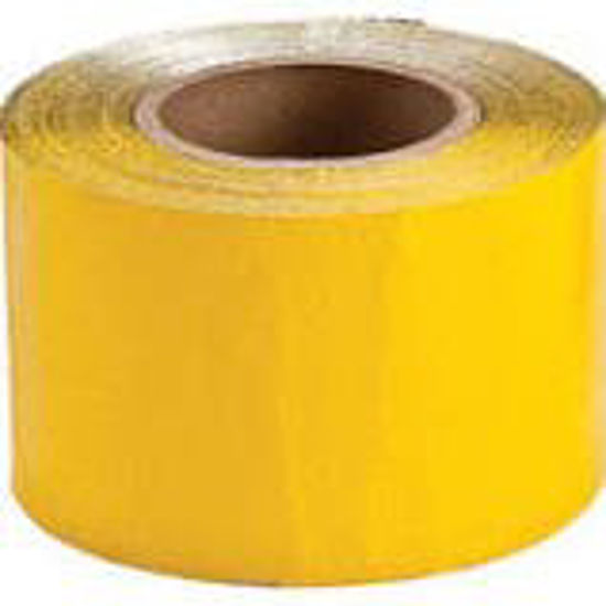 Picture of Flex-O-Line™ Construction Grade Tape, Yellow, 4 in x 100 yds