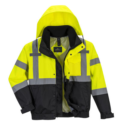 Picture of Portwest - Hi-Vis Premium 3-in-1 Bomber Collection