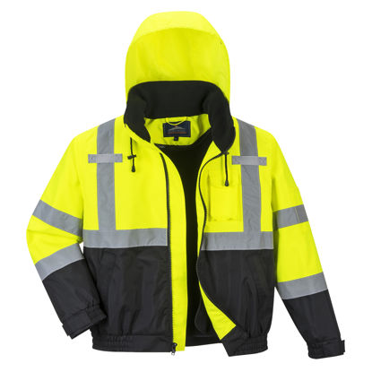 Picture of Portwest -  Hi-Vis Premium 2-in-1 Bomber