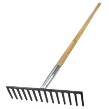 "Picture of Kraft Tool Co.® - 16"" Heavy Duty Road Rake"