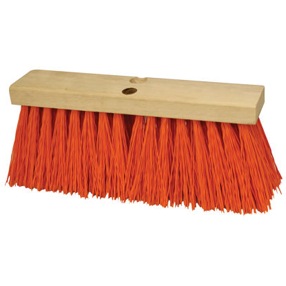 "Picture of Kraft Tool Co.®  24"" Heavy Duty Orange Sweeping Broom Head"