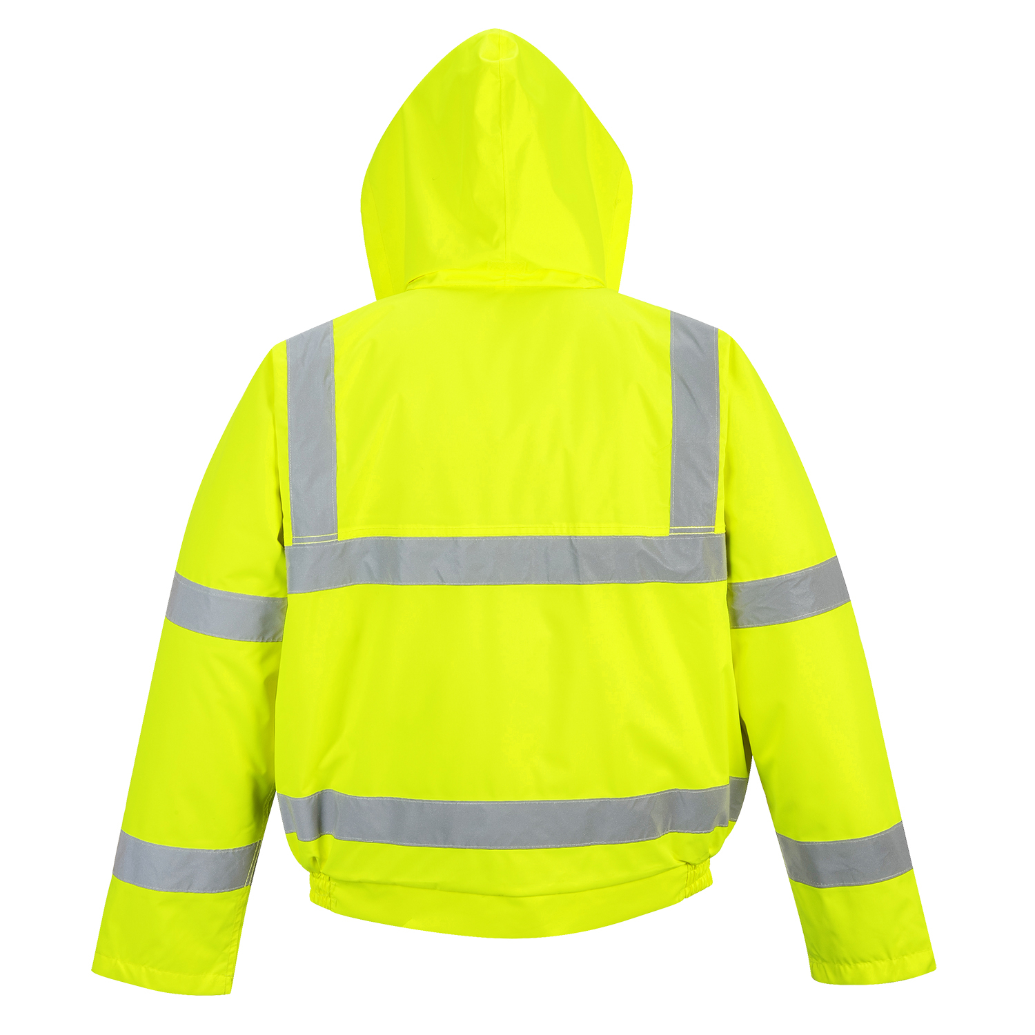 Picture of Portwest Class 3 Hi Vis Bomber Jacket Yellow