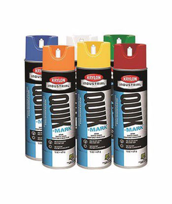 Picture of Krylon Quik-Mark Inverted Marking Paint, Solvent Based, 20 oz can