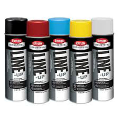Picture of Krylon - LINE-UP® Solvent Based Pavement Striping Paint, 20 oz can