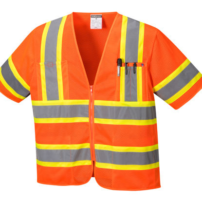 Picture of Portwest Class 3 Hi Vis Augusta Vest Mesh Orange