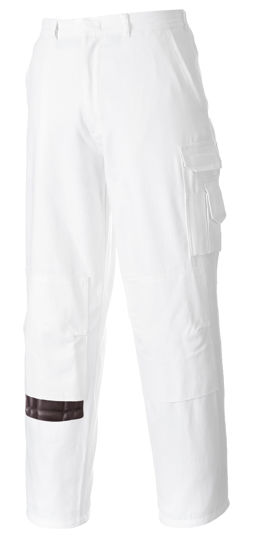 Picture of Portwest Painters Pants White Tall