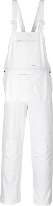 Picture of Portwest Bolton Painters Bib Overall White