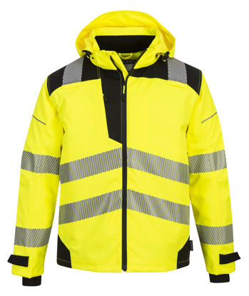 Picture of Portwest Hi Visibility PW3 RAIN  SHELL JACKET