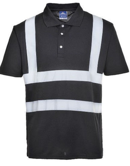 Picture of Portwest  Iona Poloshirt Black