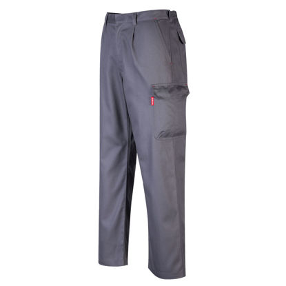 Picture of Portwest BizFlame  FR Cargo Pants Grey Regular