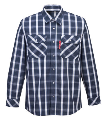 Picture of Portwest BizFlame 88/12 FR Plaid Shirt