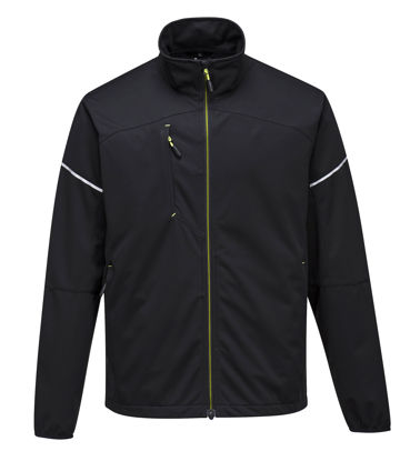 Picture of Portwest T620 - PW3 Flex Shell Jacket Black